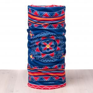Stoorstålka Multiscarf Sámi-style blå