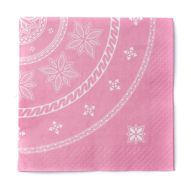 Stoorstålka servett Suovas 20-pack rosa
