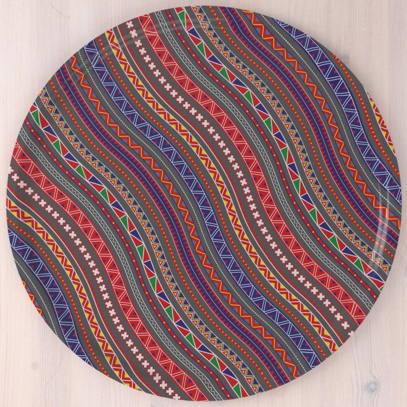 Stoorstålka Bricka Colors of Sápmi Encore grå 45 cm