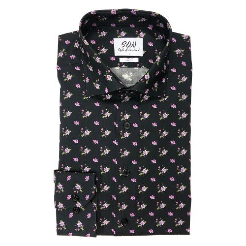 Skjorta åkerbärsblomma herr Regular