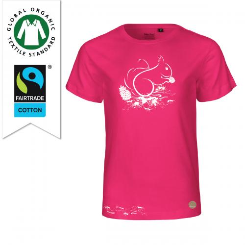 T-shirt Skogen Cerise