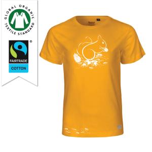 T-shirt Skogen Gul