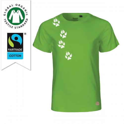 T-shirt spår Lime