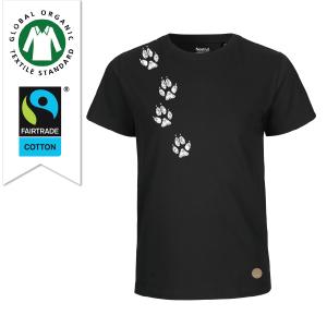 T-shirt spår svart