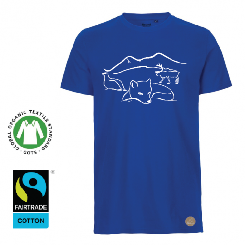 "T-shirt  Herr ""Lappland"" Royal"