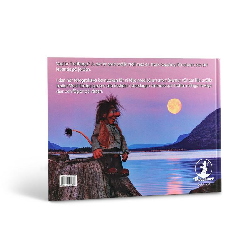 Barnbok Trollihopp- Det stora äventyret