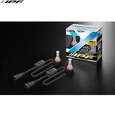 IPF H8/H9/H11/H16/H27 12w Led konverteringskit