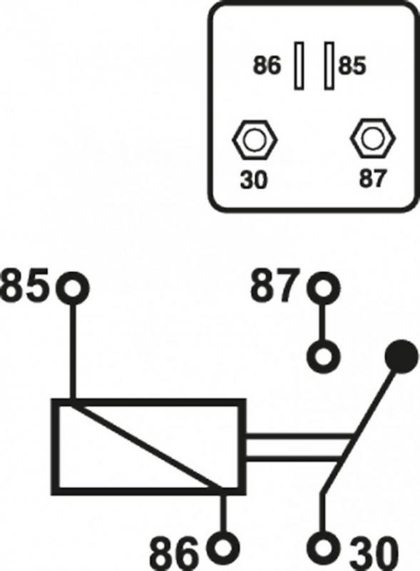 Kopplingsschema 200A Relä