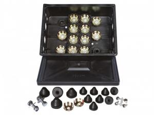 Kopplingsbox 12-håls komplett