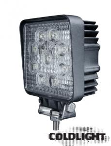 27w Led arbetsbelysning Coldlight