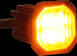 Button Blast led blixtljus för infällnad