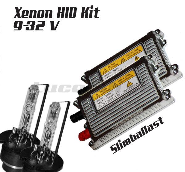 55w Slim xenonkit 12-24V