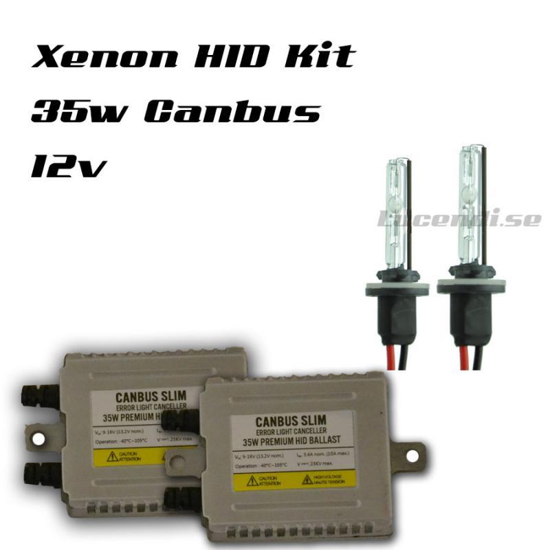 35w Canbus X Slim Xenonkit