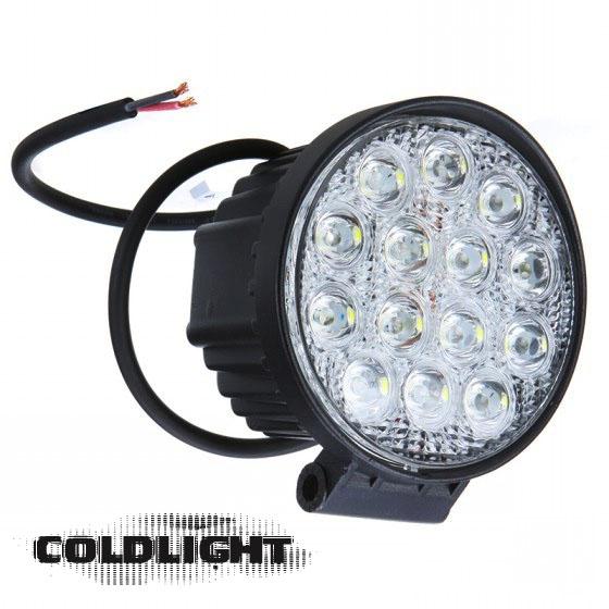42w Led arbetsbelysning Coldlight