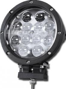 60w Led extraljus Svart Coldlight