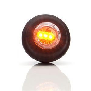 Runt led positionsljus för infällning orange