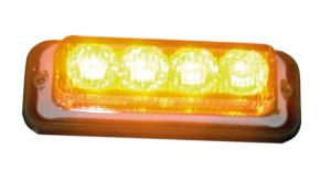 Blixtljus Orange 4-Led