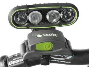 LEDX Cykelfäste
