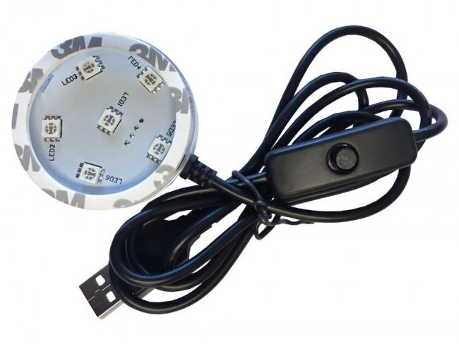 POPPY LED-platta RGB Fast/skiftande belysning