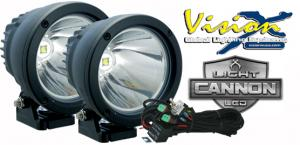 Vision X Light cannon 25w led extraljus kit