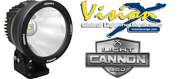 Vision X Light cannon 50w Led extraljus