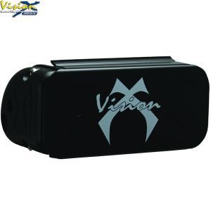 Stenskottsskyd till Vision X XMitter led extraljusramper (Blackout)