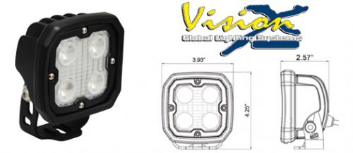 Vision X Utility Dura 4 Led arbetslampa 60°