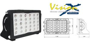 Vision X Pit Master 150w Led arbetslampa