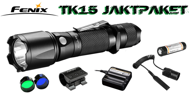 Fenix TK15 Jakt/eftersökspaket