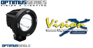 Vision X Optimus round 10w Led extraljus