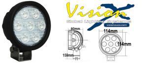 Vision X Utility UMX 4000 Rund  35w Led arbetsbelysning