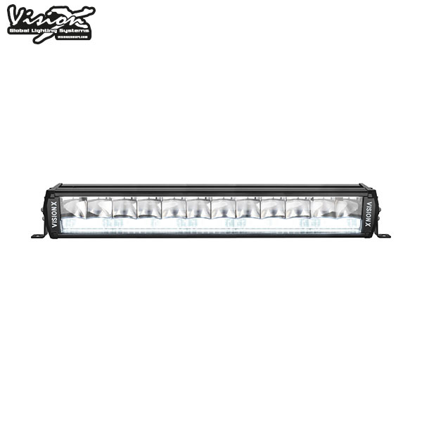 "20"" Vision X Shocker Dual Action Led Extraljusramp 125W/200W  Vit/Vit"
