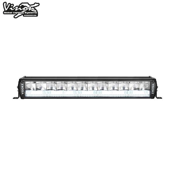 "20"" Vision X Shocker Dual Action Led Extraljusramp 125W/200W  Vit/Vit"