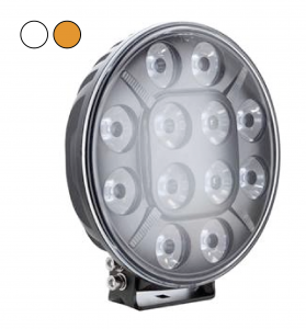 "7"" Seeker 60w Led Extraljus med Orange/Vitt Positionsljus"