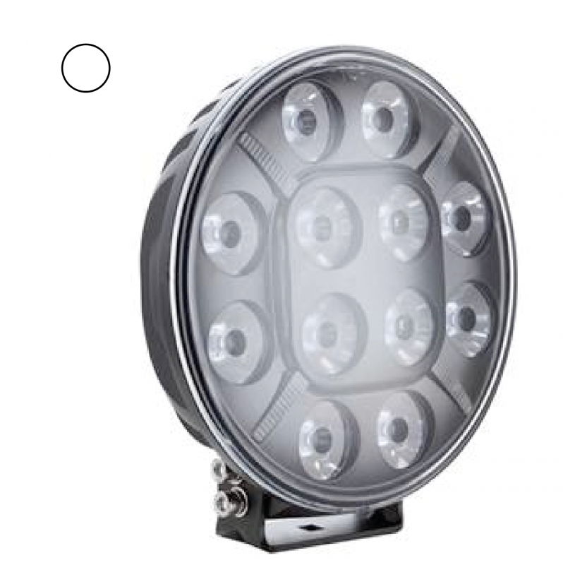 "9"" Seeker 120w Led Extraljus med Positionsljus"
