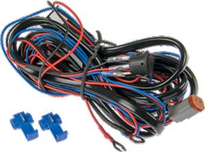 Extraljuskablage för 1 ljus, med relä och DT-kontakt, brytare
