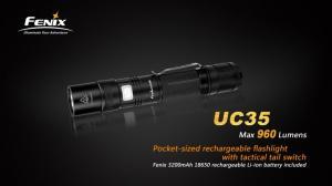 Fenix UC35 USB Led ficklampa