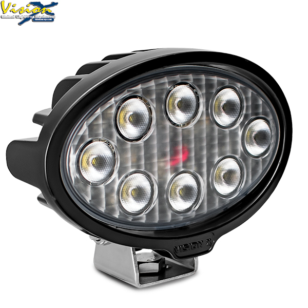 Vision X VL Series Oval 8-led 40W