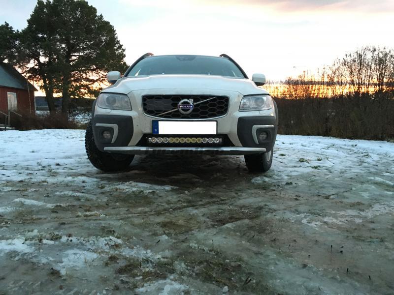Vision X XPR led ljusramp, Volvo XC70