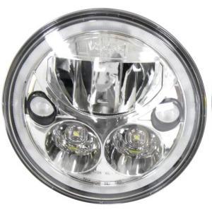 """Vision X Vortex 7"""" LED hel- & halvljusinsats med DRL"""