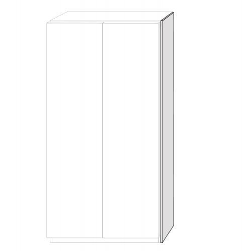 Täcksida till PAX i True Elm - 61x234,5 cm
