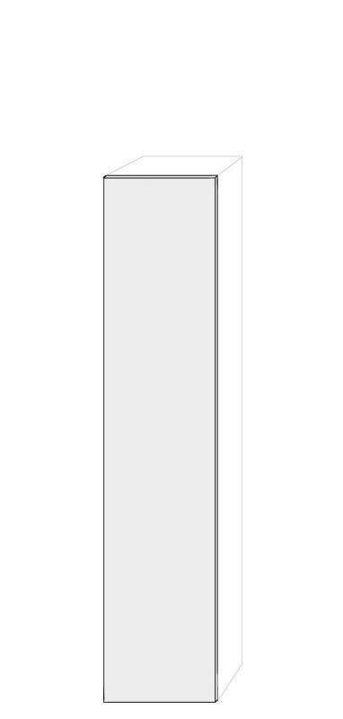 Högerhängd dörr 50x236cm Pax - True Elm