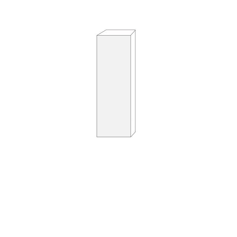 40x120 - 1 lucka högerhängd