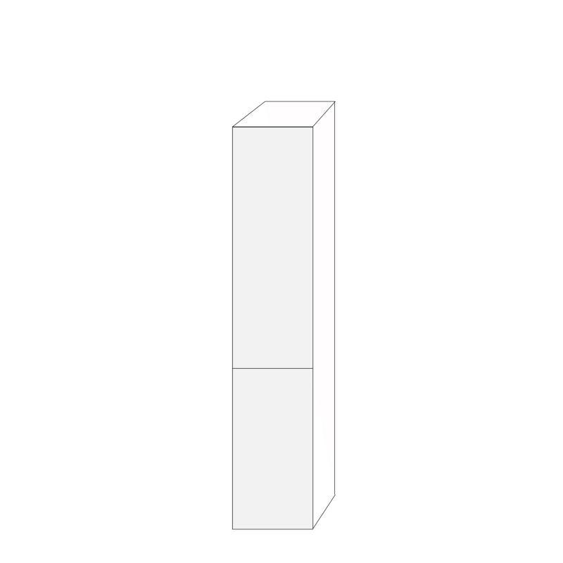 Fanér 40x200 - 2 luckor högerhängda 120/80