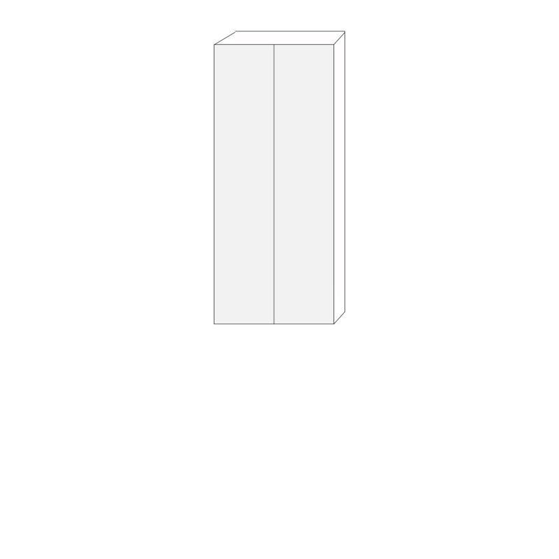 60x140 - 1 luckpar till väggstomme