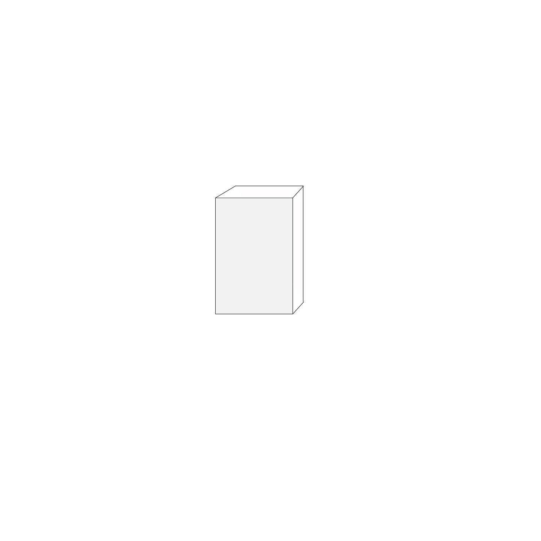 40x60 - 1 lucka högerhängd