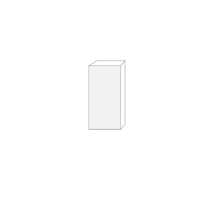 40x80- 1 lucka vänsterhängd