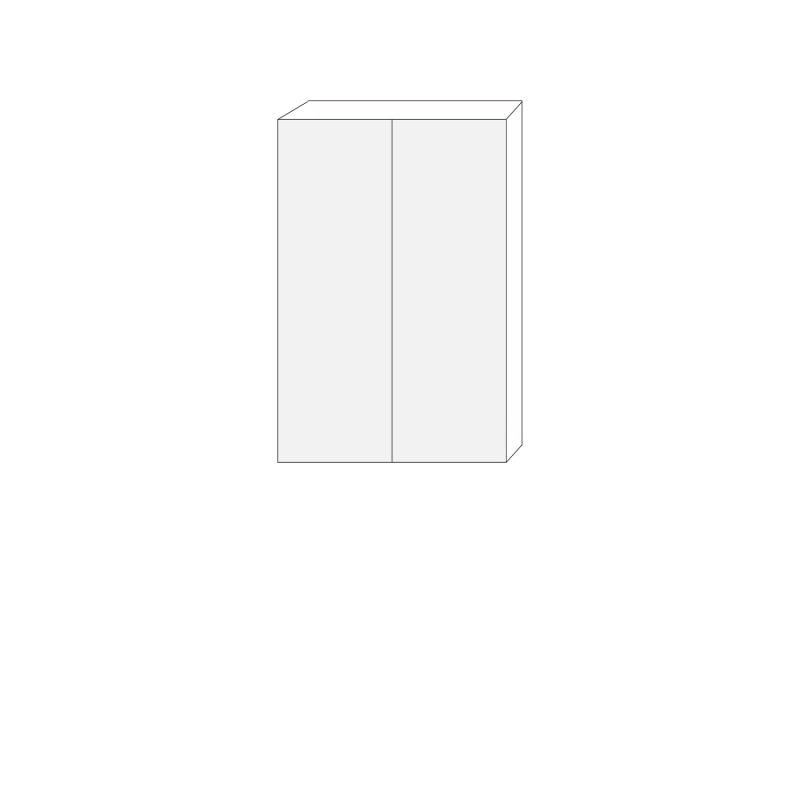 80x120 - 1 luckpar till väggstomme