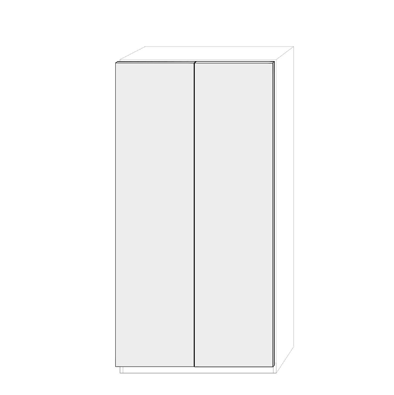 Dörrpar 100cm Pax - släta