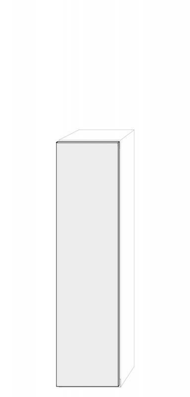 Högerhängd dörr 50x201cm Pax - True Elm